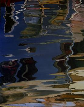 Burano_-_reflections_iv