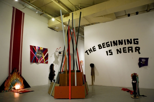 The_beginning_is_near-_installation