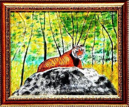 The_awakened_tiger