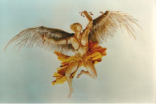 Icarus__plafondschildering_