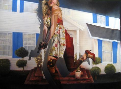 June_stratton_-_primetime_woman_40x54_oil_on_linen