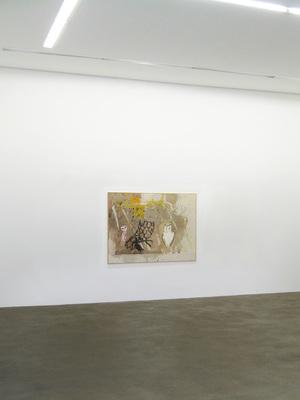 David_ostrowski_gelb_2009_oil_and_spray_paint_on_canvas_130x180cm__
