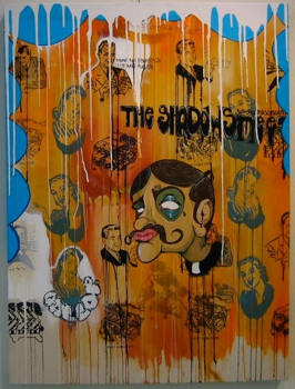 The_shadows_where_crossbones_meet_by_corey_hagberg__300_-_30x40_paint_and_silk_scren_on_canvas