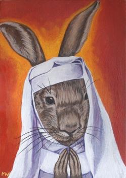 Bunny-nun