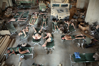 Flickr_corum_soldiers_on_cots