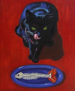 Blackcatbluedish
