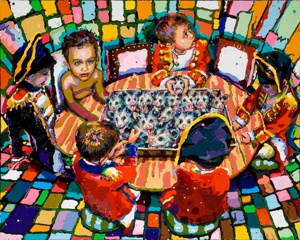 Situation_room_2009_oil_and_acr_on_canvas_36x48