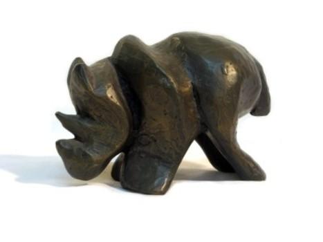 Rhino_bronze