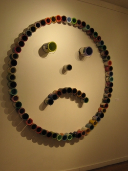 No_worries__empty_paint_cans_and_velcro_2008