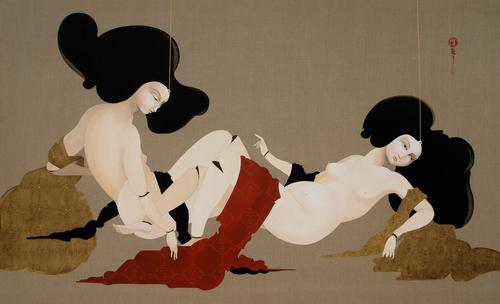 Sexual_2009_oil_on_linen