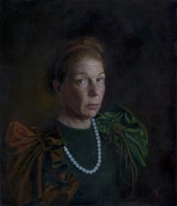 Oleg-radvan_pearl-necklace_26x22_oil-on-canvas_4500