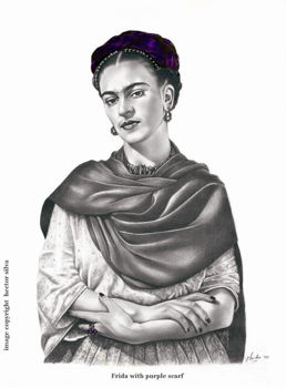 Frida_with_purple_scarf