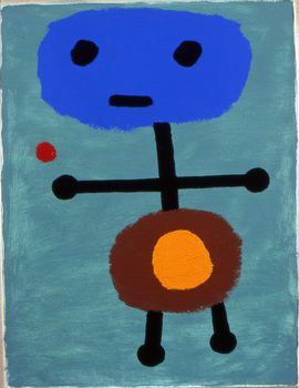 2008_-_child_with_dwarf_star_-_oil_on_paper_-_9_x_12
