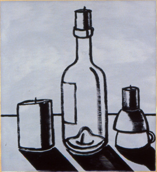 2007_-_lonely_still_life_-_oil_on_paper_-_20_x20