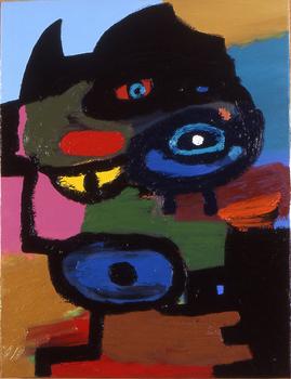 2007_-_brickbats_-_oil_on_canvas_-_18_x_24