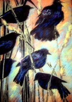 Black_pastel_birds_001
