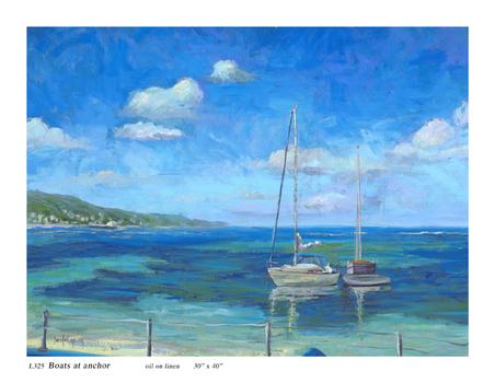 Boats-at-anchor-