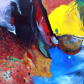 Germinal_oil_on_canvas_153x153cms