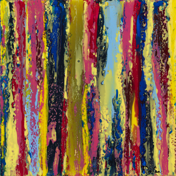 Carnival_daniel_nolan_2009_resin_on_canvas_24x24
