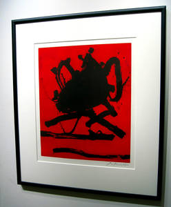 Motherwell_red_sea_ii_framed