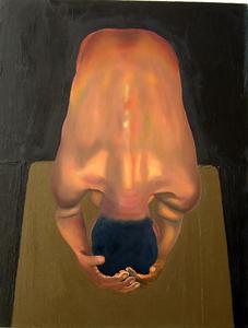 Bend_male_figure_oil_on_canvas_22in_x_28in