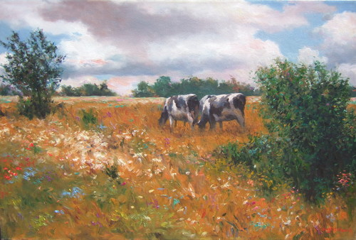 Holsteinsandwildflowers24x36