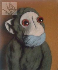 Green-monkey-on-orange-300d