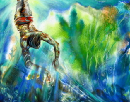 Diver--oil_on_canvas40inx47in_