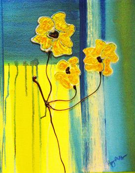 Yellowflowers16x20
