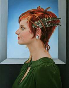 Portrait_1of_shannon_after_botticelli__2009__18_x_14_inches__oil_on_canvas