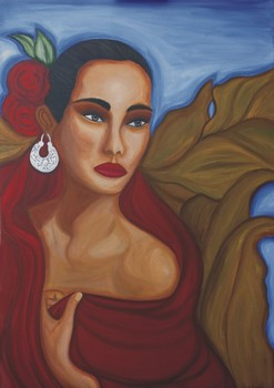 Mujer_con_rebozo_rojo_artslant