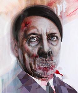 Nolan__rhythm_of_cruelty__184x154cm_oil_on_canvas_2010