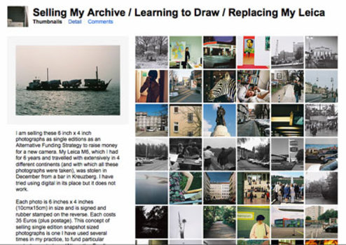 Sellingmyarchive