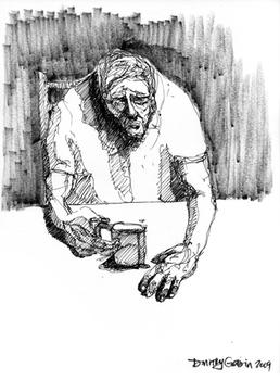 Oldmandrinkingcoffee
