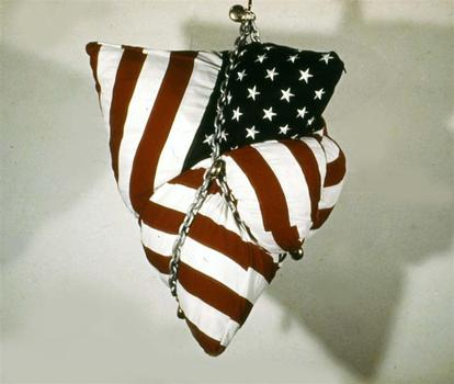 Flag_in_chains_collection_university_of_california_at_berkley