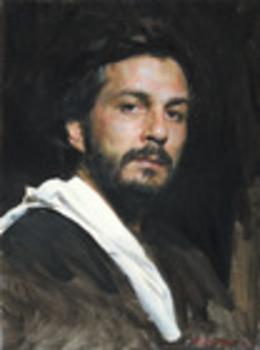 Self-portrait-with-white-ra