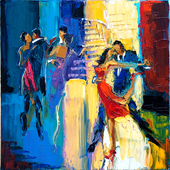 Dance_me_to_the_end_of_love_12x12_inch_oil_on_canvas
