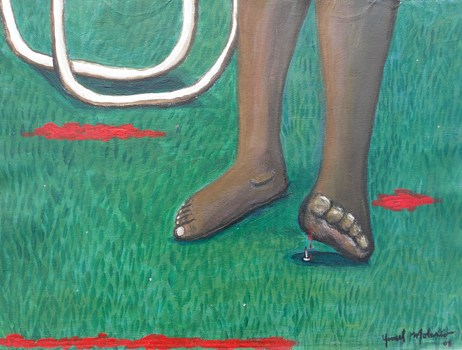 Barefoot-acrylic
