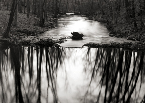 Caponigro_reflecting_stream