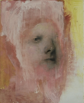 Tremlett__portrait_study_5__oil___graphite_on_paper_50x40cm_2010