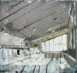 Memories_fading_100x_100_cm_oil_on_canvas_2009