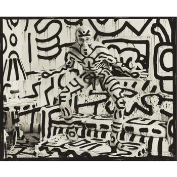 Annie_leibovitz_-_keith_haring__new_york-_collectie_epfap