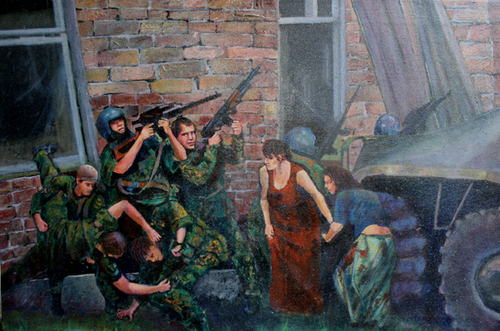Massacre_at_chechnya_acrylic_canvas_36x24in