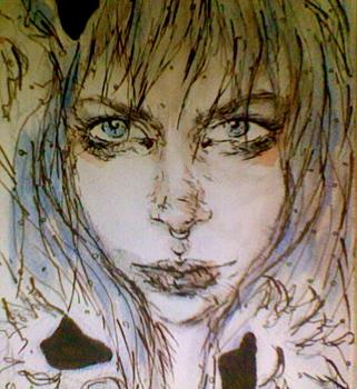 Swans-watercolor__ink