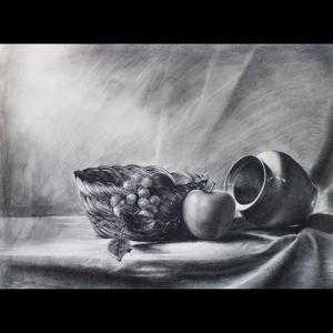 Charcoal-still-life-study-2