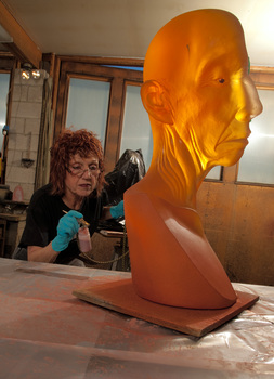 Judy_chicago__grand_toby_head_with_copper_eye