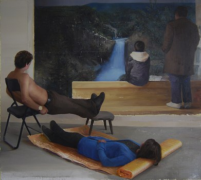 We_have_the_same_feelings_220x200cm_oil_on_canvas_2010