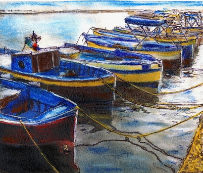 Procida_fishing_boats