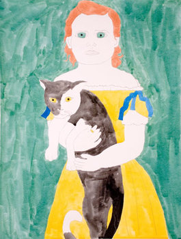 Matt-wedel-drawing-girl-with-cat