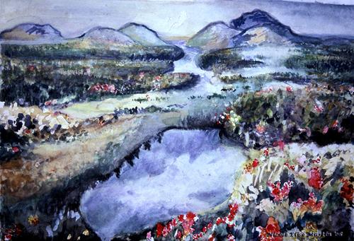 Watercolor_flowery_mountainside_wm_small